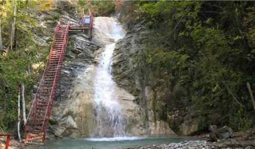 Джубга экскурсия на водопад шнурок